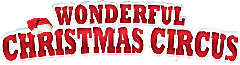 logo wonderful christmas circus
