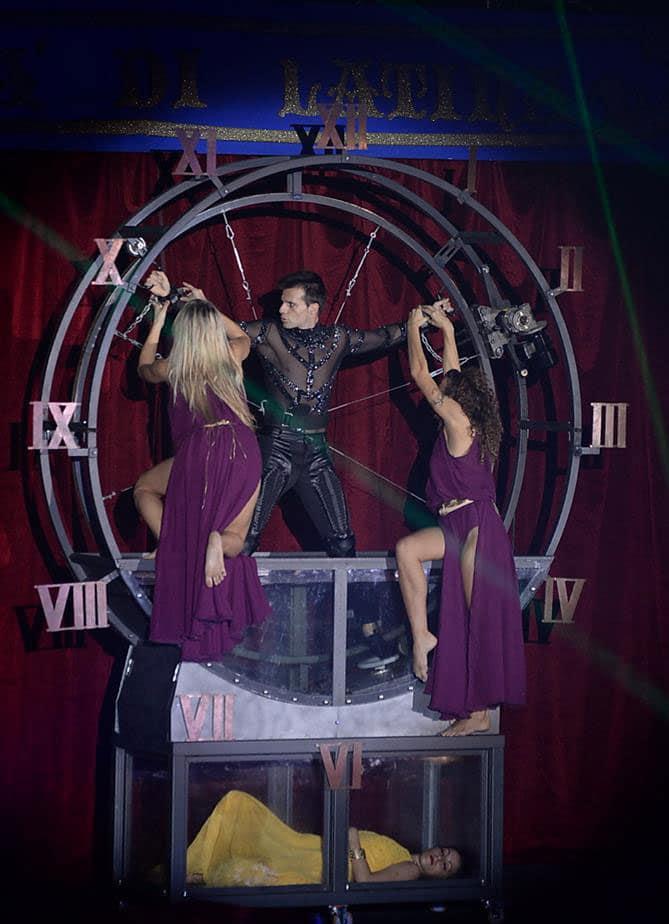 magie cirque noel caen